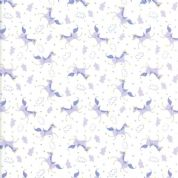Moda - Once Upon a Time - Stacey Iest Hsu - 6249 - Lilac Unicorns- 20596 21 - Cotton Fabric